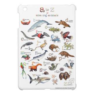 A-Z of amazing animals iPad Mini Cases