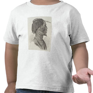 A Zandeh from The History of Mankind Tees