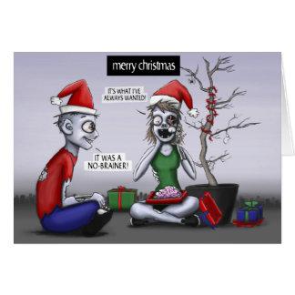 A Zombie Christmas Card