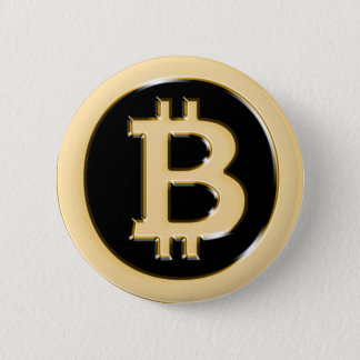 AA568-Bitcoin-Made-of-Gold-symbol 2 Inch Round Button
