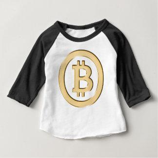 AA568-Bitcoin-Made-of-Gold-symbol Baby T-Shirt
