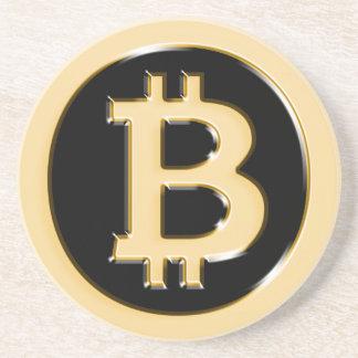 AA568-Bitcoin-Made-of-Gold-symbol Coaster
