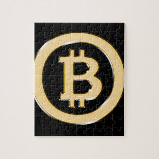 AA568-Bitcoin-Made-of-Gold-symbol Jigsaw Puzzle