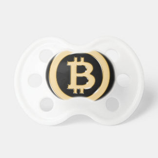 AA568-Bitcoin-Made-of-Gold-symbol Pacifier
