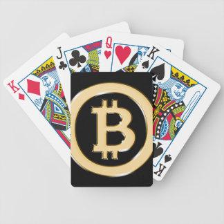 AA568-Bitcoin-Made-of-Gold-symbol Poker Deck
