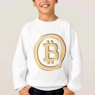 AA568-Bitcoin-Made-of-Gold-symbol Sweatshirt