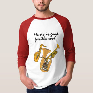 AA- Music is Good for the Soul Shirt