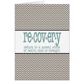 AA Recovery Definition Card