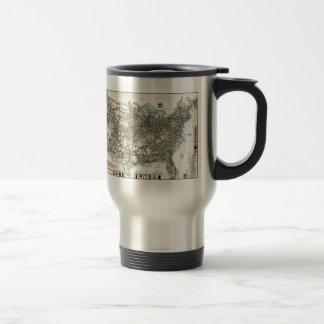 AAA Map of transcontinental routes (1918) Travel Mug