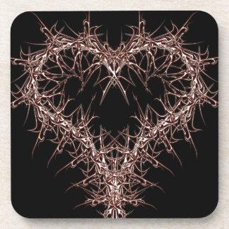 aaa-r-6rotes heart coaster