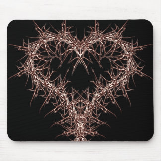aaa-r-6rotes heart mouse pad