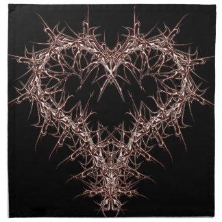 aaa-r-6rotes heart napkin