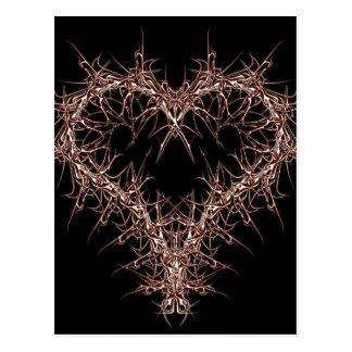 aaa-r-6rotes heart postcard