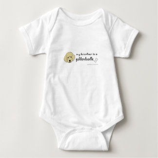 aaaoct6d my brother is a goldendoodle -more breeds t-shirt