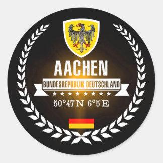 Aachen Classic Round Sticker