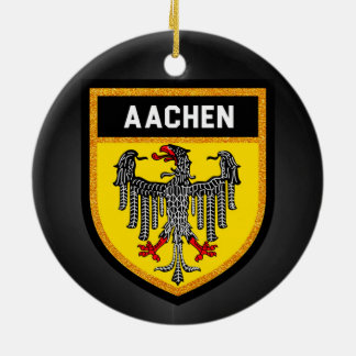 Aachen Flag Ceramic Ornament