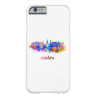 Aachen skyline in watercolor barely there iPhone 6 case