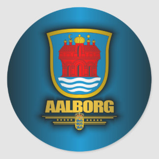 Aalborg Classic Round Sticker