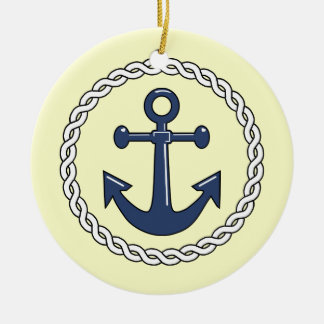 Aanchor Nautical Christmas Ornament