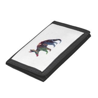 Aardvark Art Trifold Wallet