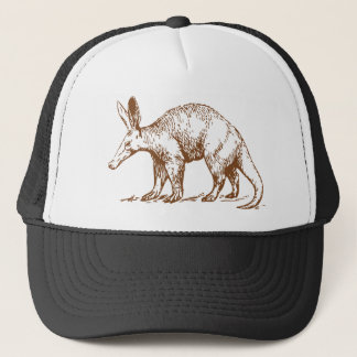 Aardvark Brown Trucker Hat