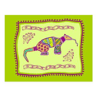Aardvark Quilt Postcard