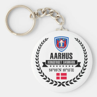 Aarhus Keychain