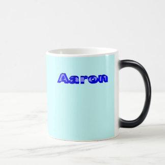 Aaron 11 Oz Magic Heat Color-Changing Coffee Mug