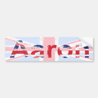 Aaron Bumper Sticker