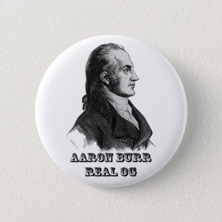 Aaron Burr Original Gangsta Button