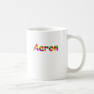 Aaron Classic White Coffee Mug