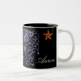 Aaron Designer Name Mug
