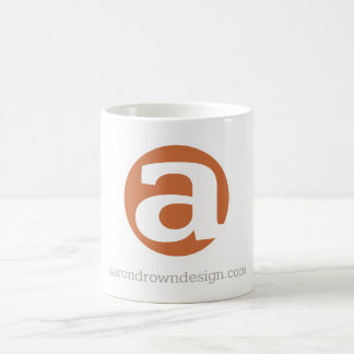 Aaron Drown Design icon mug