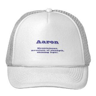 Aaron Mesh Hats