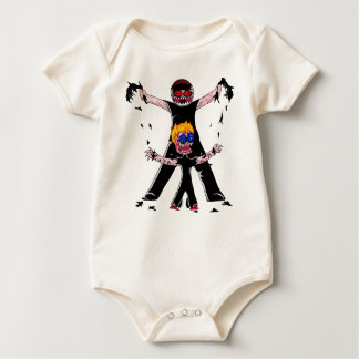 Aaron is Ripped baby body suit Bodysuits
