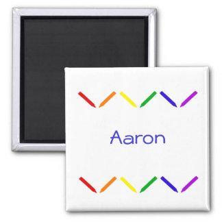 Aaron Refrigerator Magnet