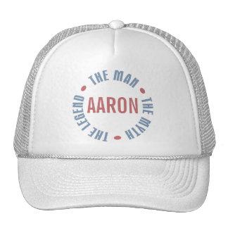 Aaron Man Myth Legend Customizable Trucker Hat