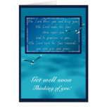 Aaronic blessing! greeting card