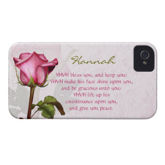 Aaronic Blessing Rose BlackBerry Bold iPhone 4 Case