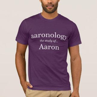Aaronology the study of Aaron T-Shirt