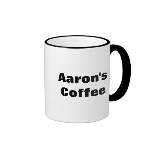 Aaron's Coffee Coffee Mugs