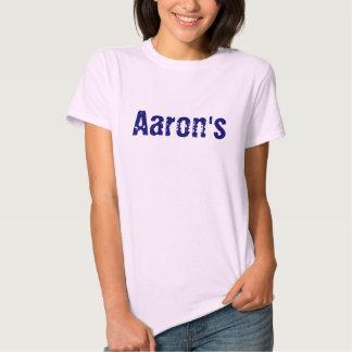 Aaron's Tee Shirt