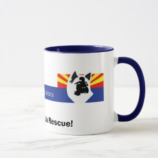 AARTA-Header, I Support Akita Rescue! Mug