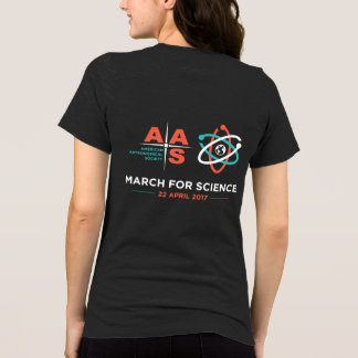 AAS + March for Science; Reverse, Heather Gray T-Shirt