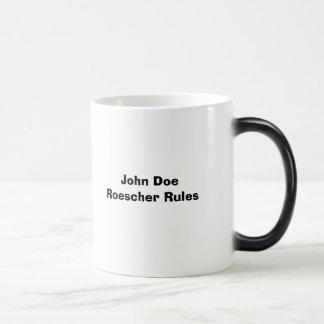 AAStamp1, John Doe Roescher Rules Magic Mug