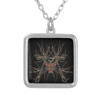 aaxoo silver plated necklace