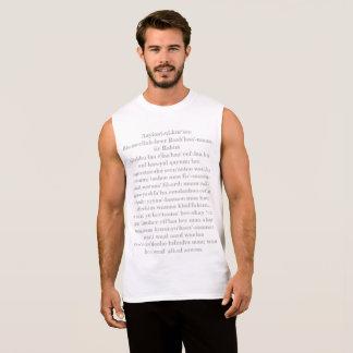 Aayiaat-ul-kur'see Sleeveless Shirt