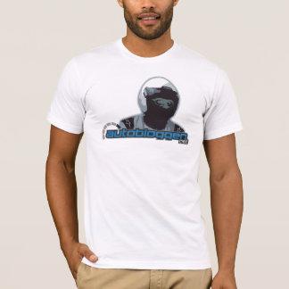 AB ALM-RACING - hvit T-Shirt