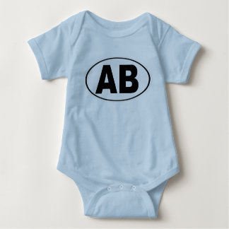 AB Atlantic Beach Florida Baby Bodysuit