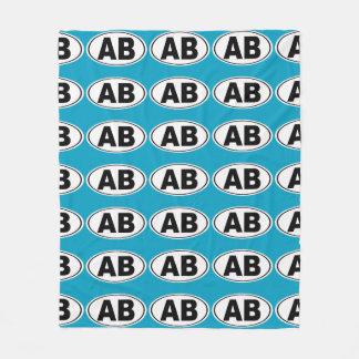 AB Atlantic Beach Florida Fleece Blanket